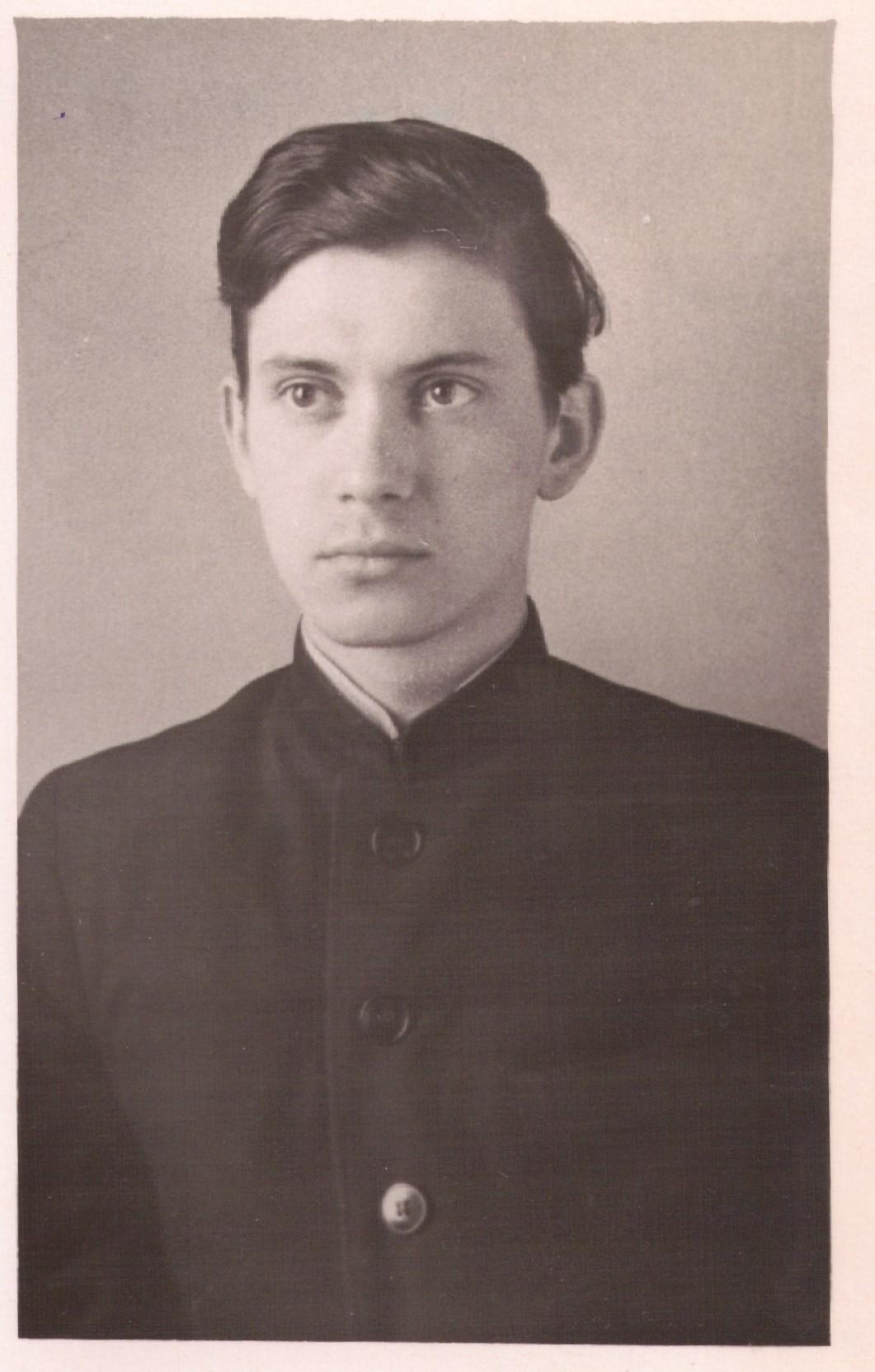 Примерно 1960 г. Семинарист
